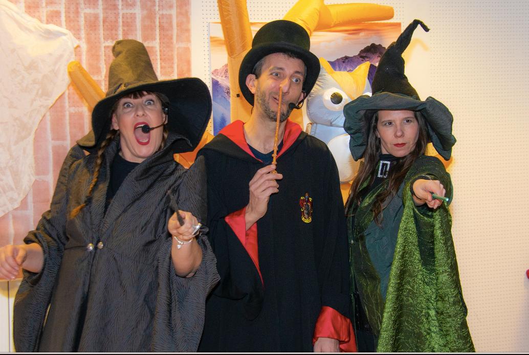 Animatori del Cappellaio Matto per la festa Harry Potter