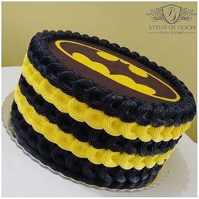 torta festa di compleanno bambini batman