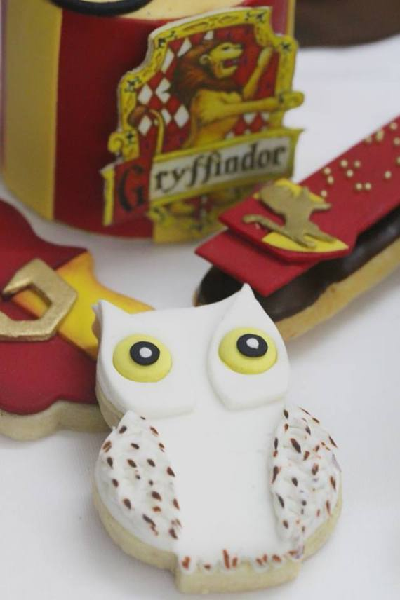 biscotti per festa compleanno bimbi a tema Harry