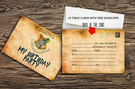 Biglietto di invito alla festa di compleanno Amazon