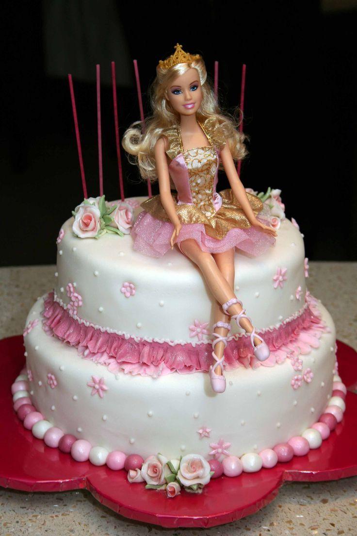 torta di compleanno barbie