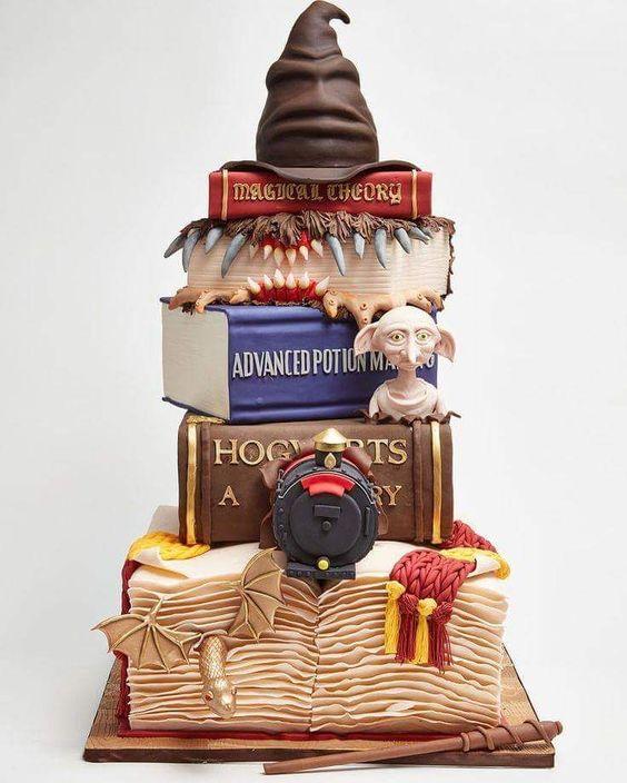 torta per festa compleanno bambini a tema Harry