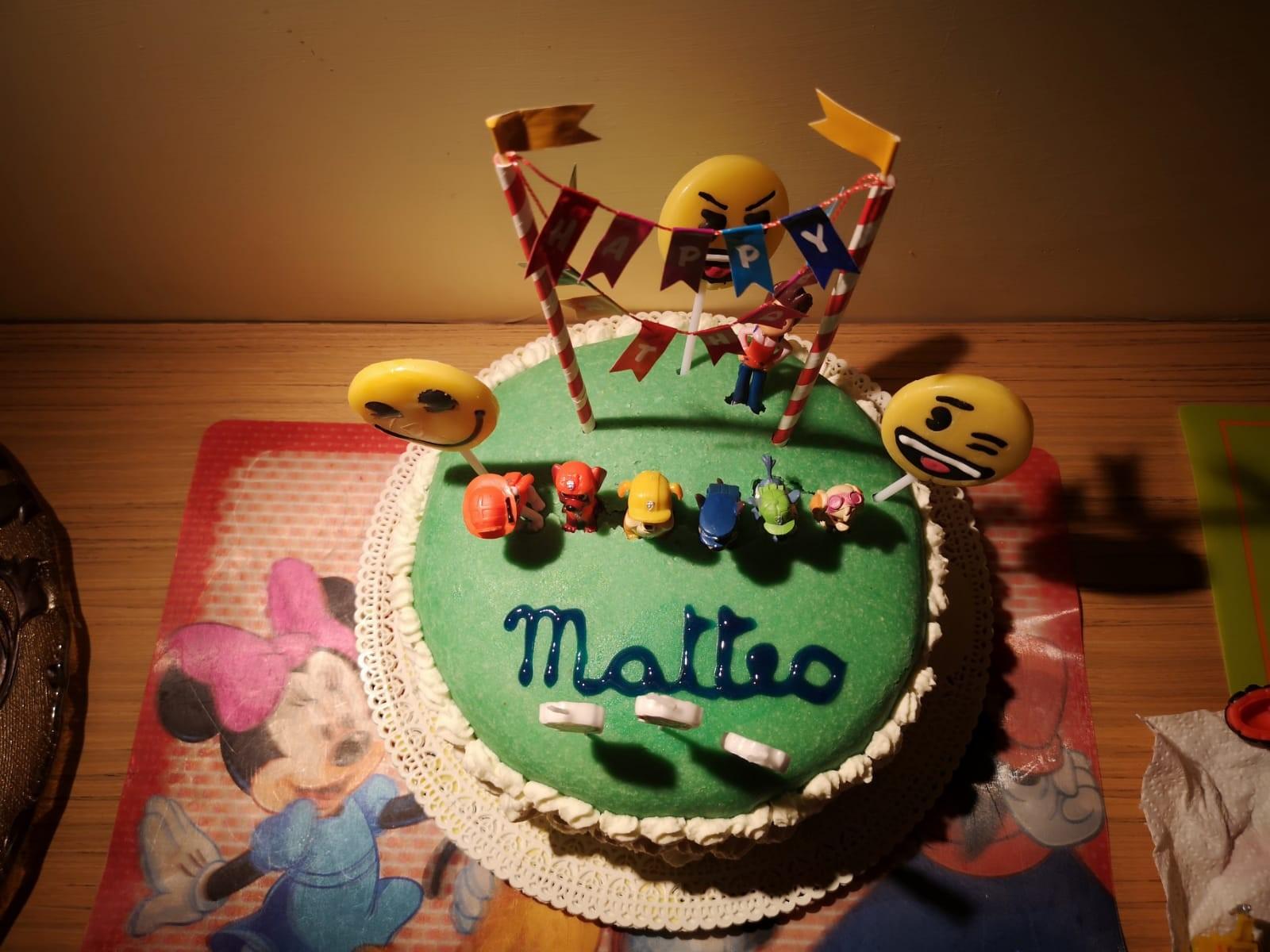 torta di cake design fatta in casa