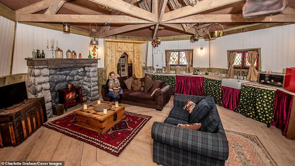 dormire nel cottage di Harry Potter
