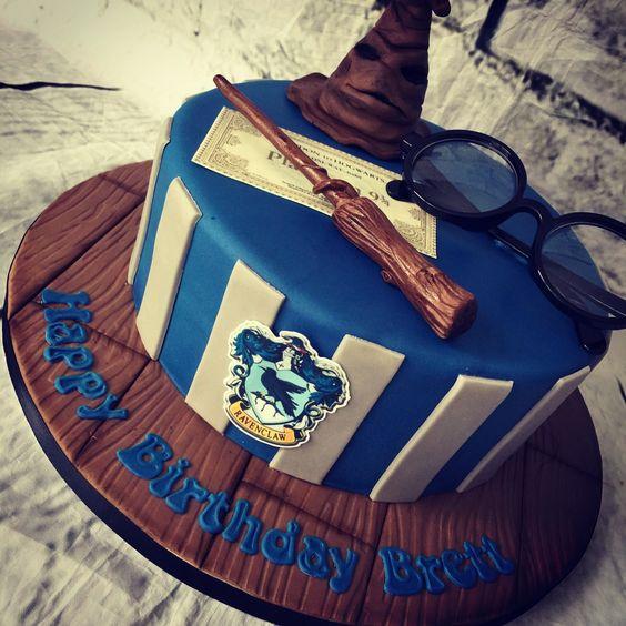 torta per festa compleanno bimbi a tema Harry