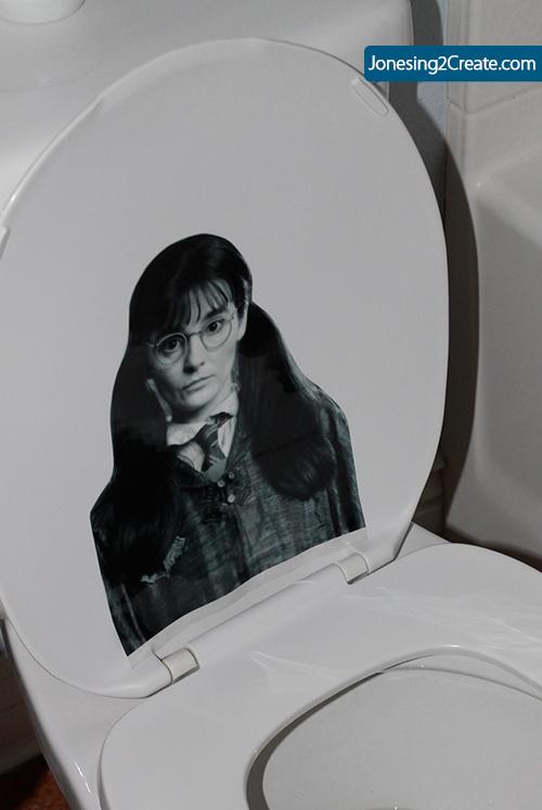 Mirtilla Malcontenta del film Harry Potter