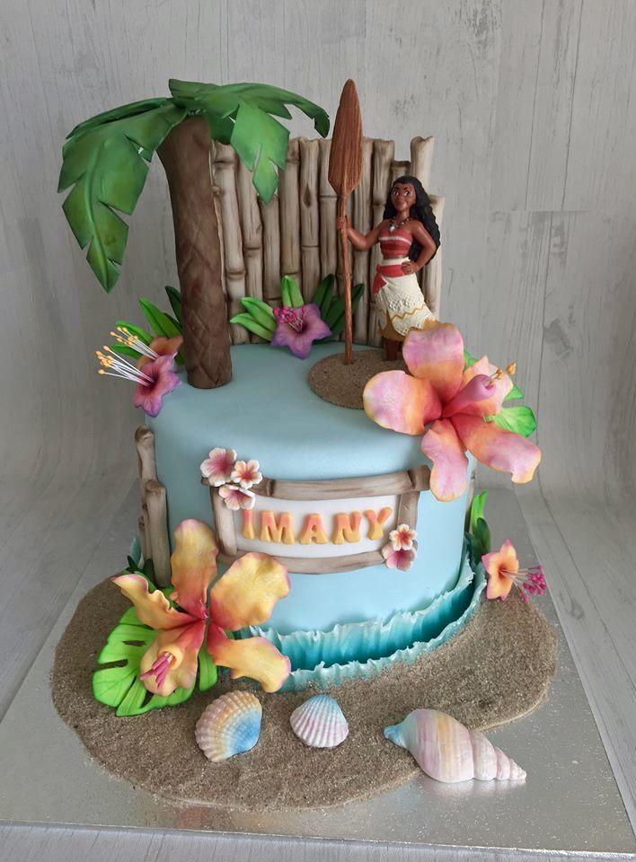 torta per bambini a tema oceania