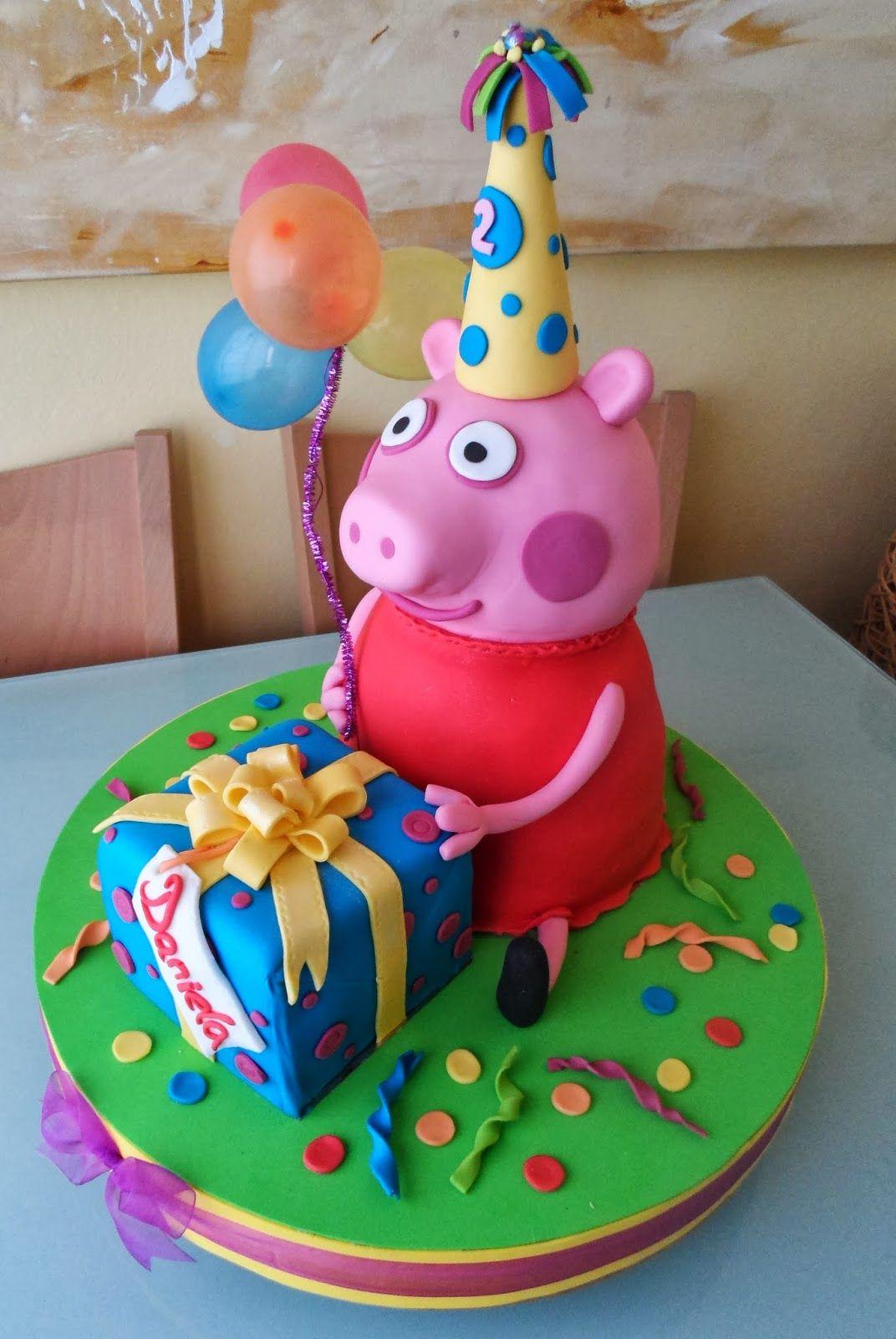 torta per bambini a tema peppa pig