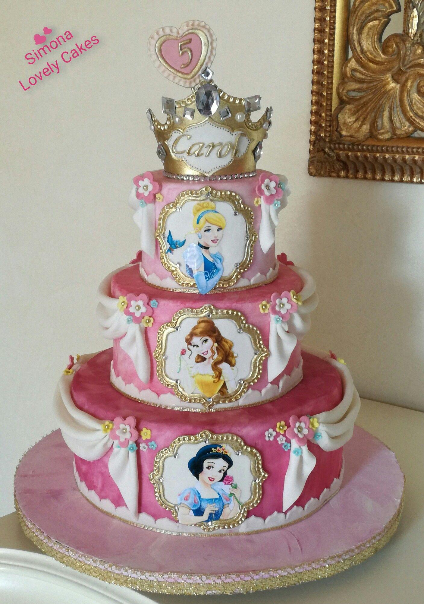 torta per la festa di compleanno di bambine