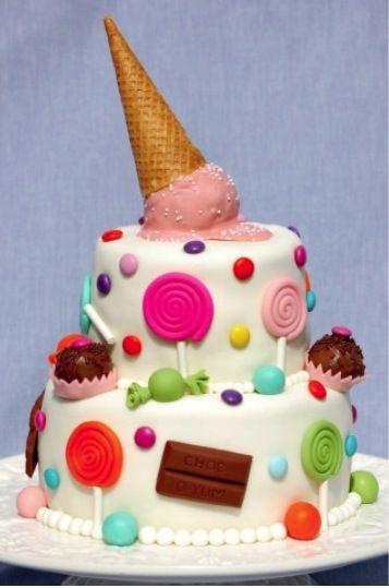 torta di compleanno per bambini estiva
