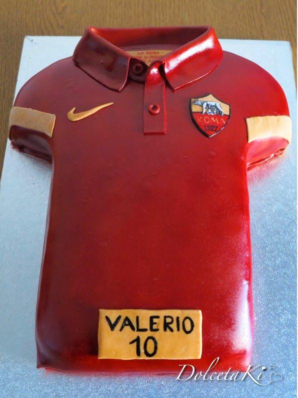 torta festa di compleanno a tema calcio Lazio